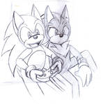Sonic and Shadow - Gaming by SonicRemix