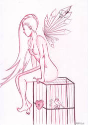 Torikago - Bird cage by Shalou973