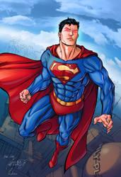Superman by padisio