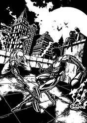 Spike Vs Nightwing
