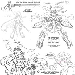 Sneak Preview Character Design by Yamino