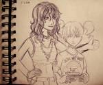 Nightingale Sketch- Undercover