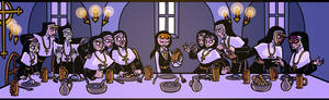 Sister Claire's Last Supper