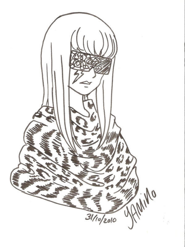Gaga Sketch for RedheadGirl by Yamino