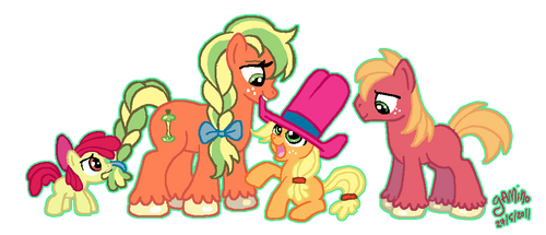 Applejack's Mom by Yamino
