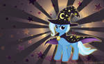 Dark Trixie Wallpaper by Yamino