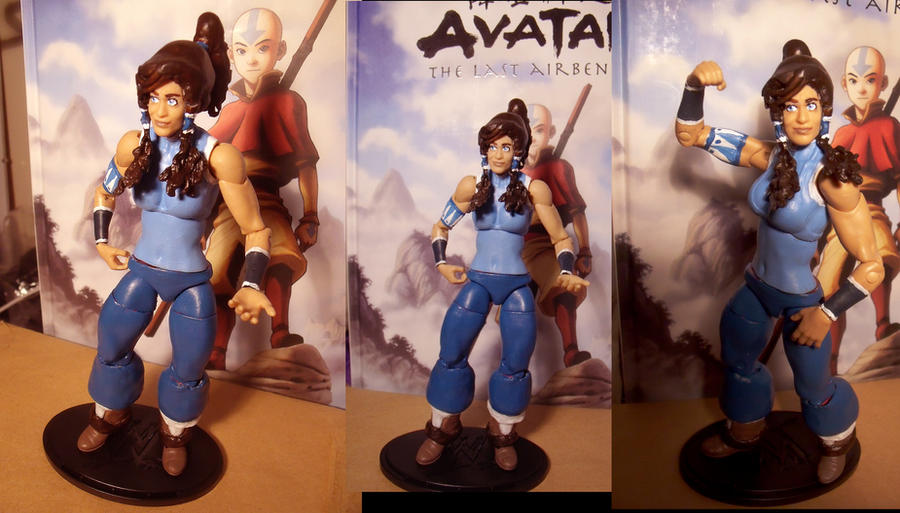 Legend Of Korra Toys : Customized korra action figure by yamino on deviantart
