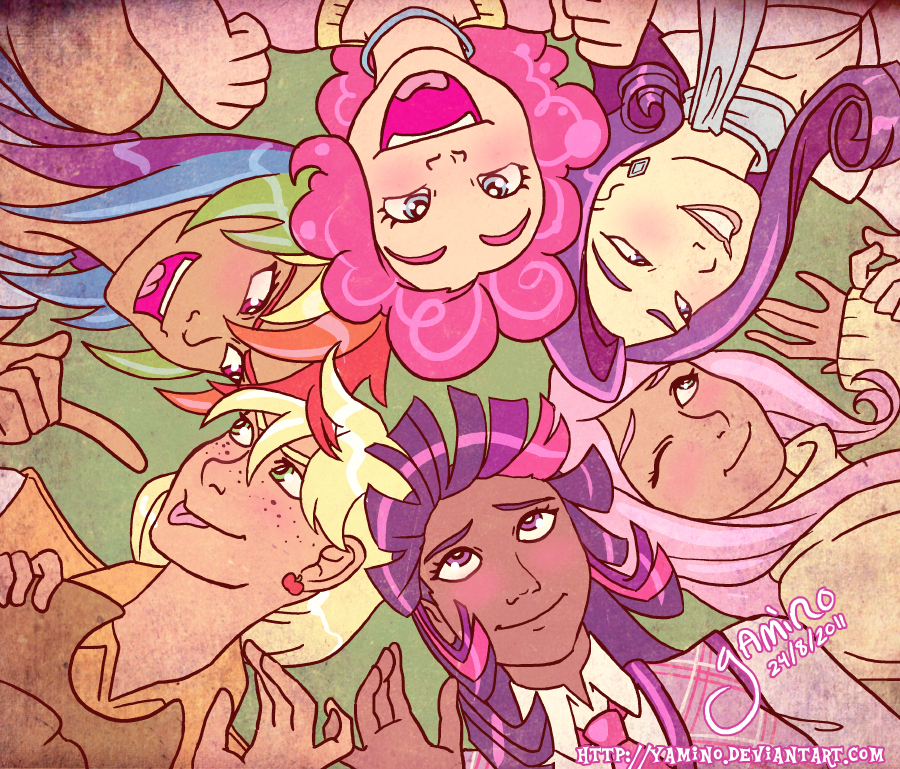 Friendship is Magic by Yamino