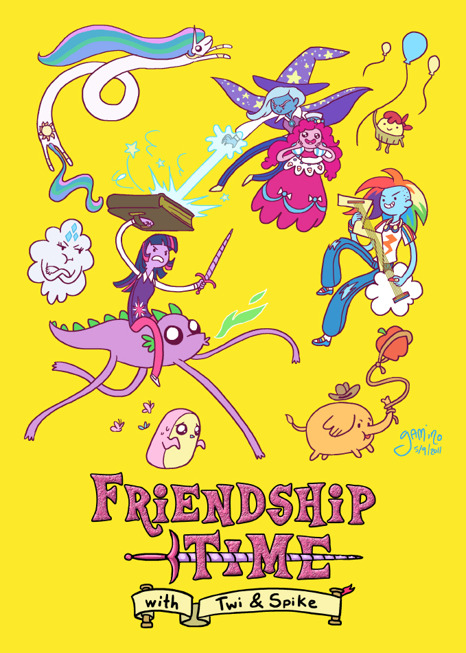 Friendship Time by `Yamino