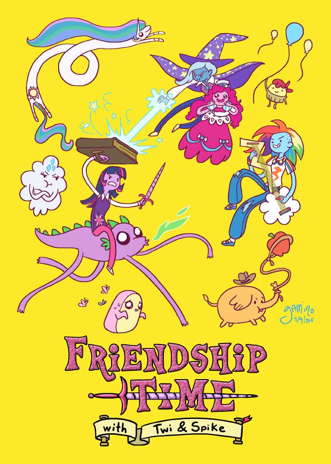 Friendship Time by Yamino