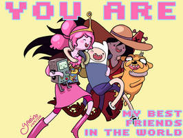 Best Friends in the World by Yamino