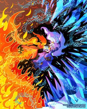 Flame Princess VS Ice Queen