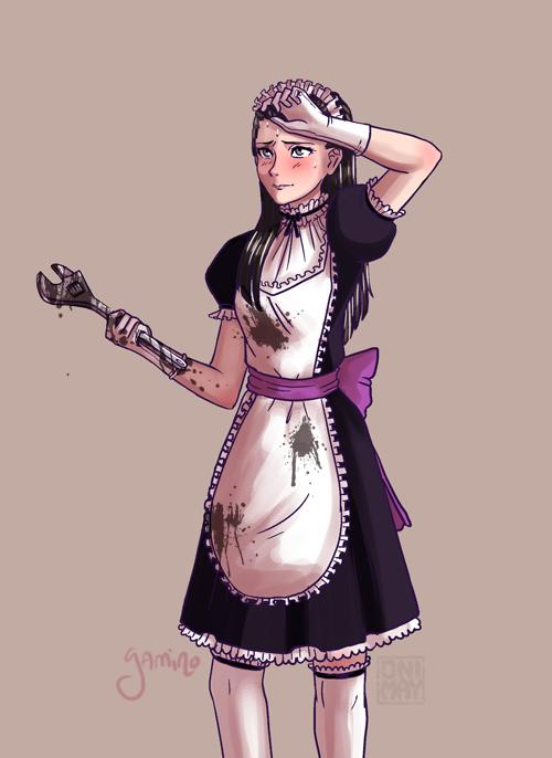 Meido!Iris Oily Version by Yamino