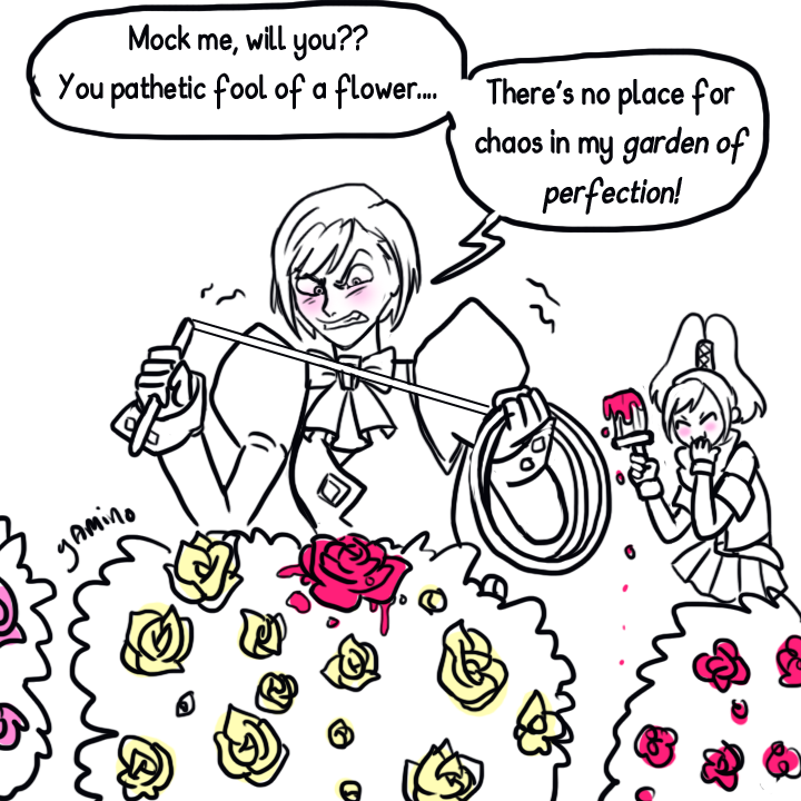 Franziska's Garden of Perfection by Yamino
