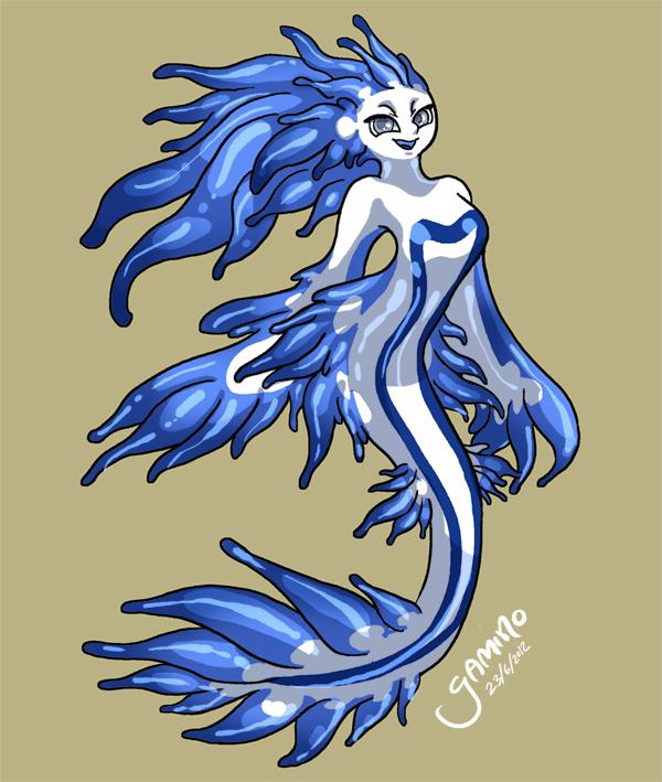 Sea Slug Mermaid by Yamino