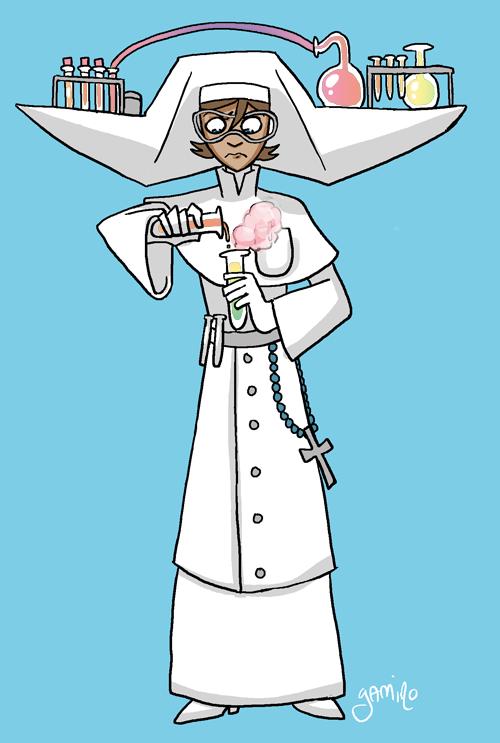 Science Nun by Yamino