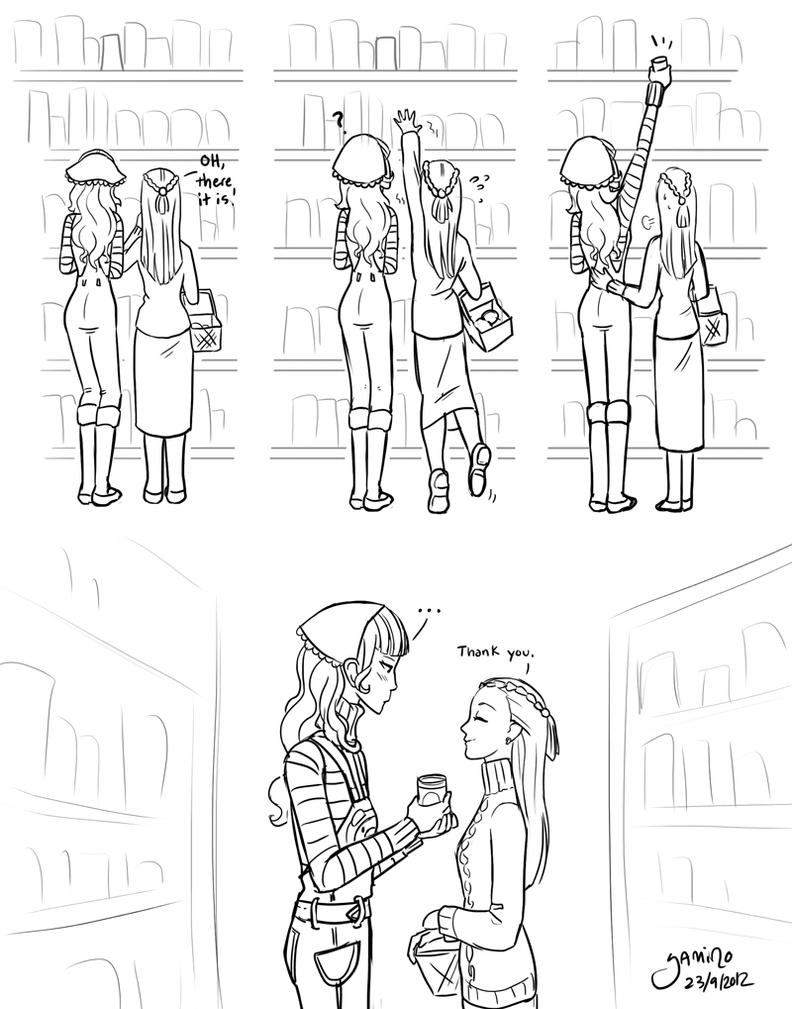 Vera and Iris go shopping by Yamino