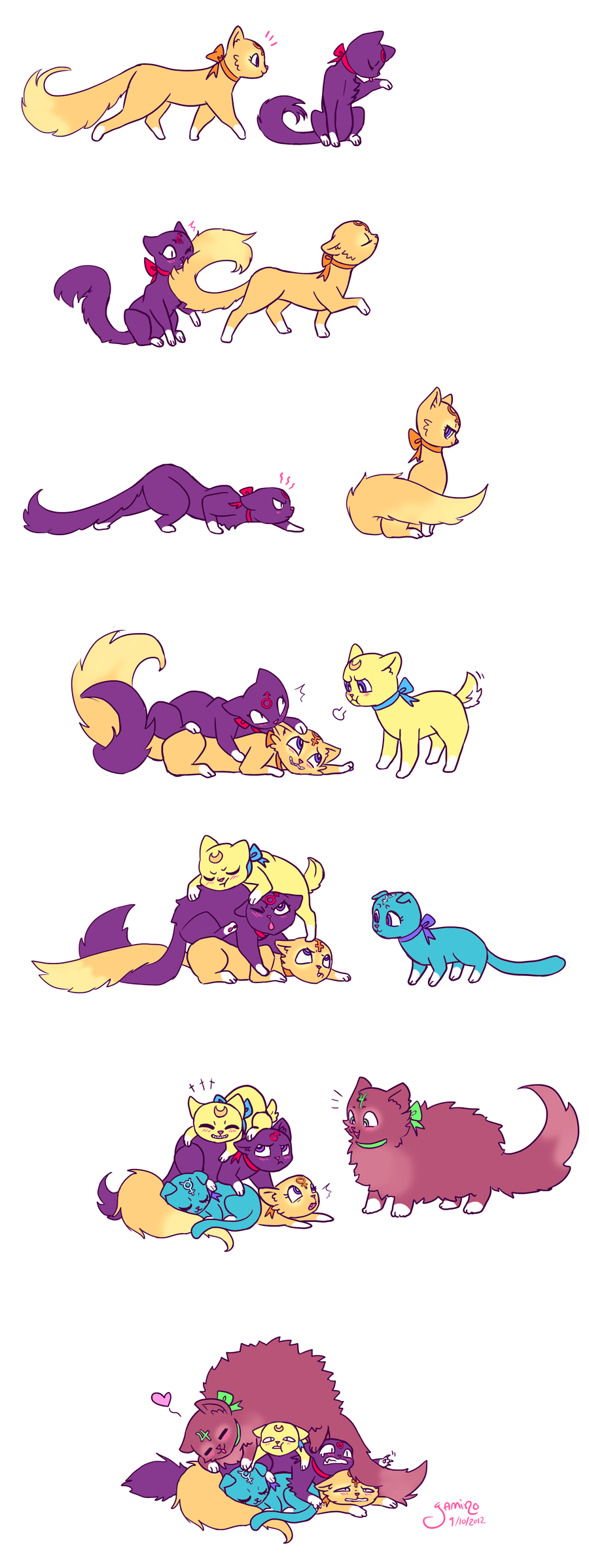 Sailor Catpile by Yamino