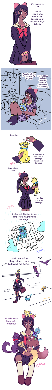Sailor Mew: Origins by Yamino