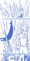 Elsa VS Maleficent by Yamino