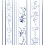 Elsa at the Door
