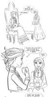 Elsa's Tea Trick