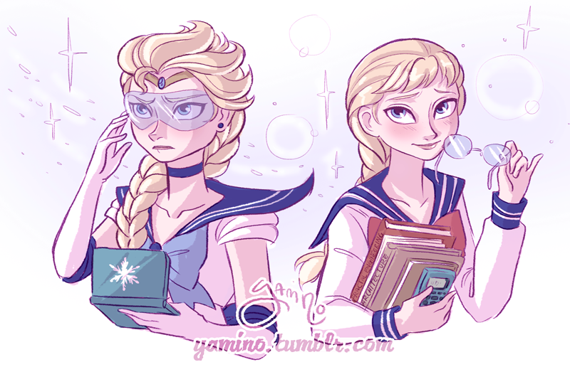 Sailor Elsa by Yamino
