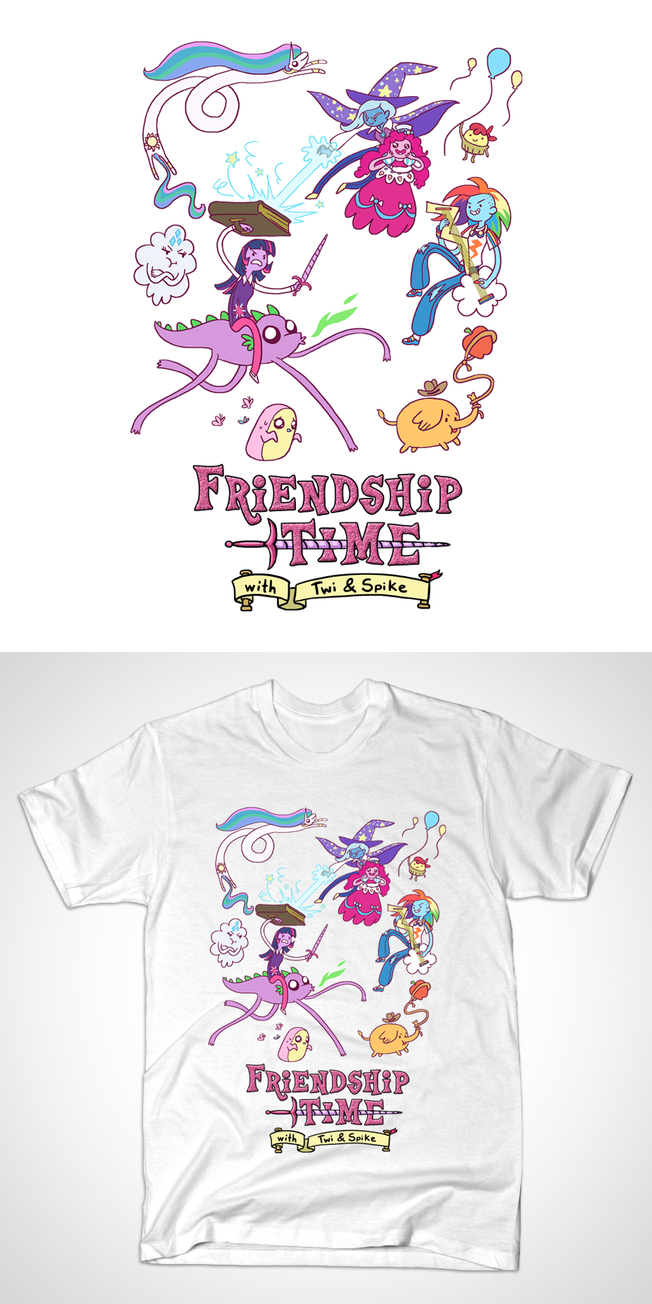 Friendship Time (Shirt) by Yamino