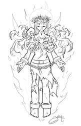 Catharine sketch by Yamino