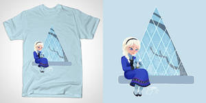 Elsa's Snowglobe (Tshirt)