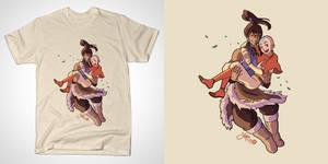 Korra and Aang (Tshirt)