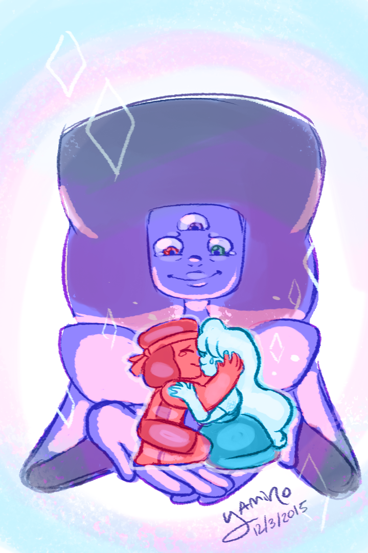 A little doodle to celebrate today's Steven Universe episodes!