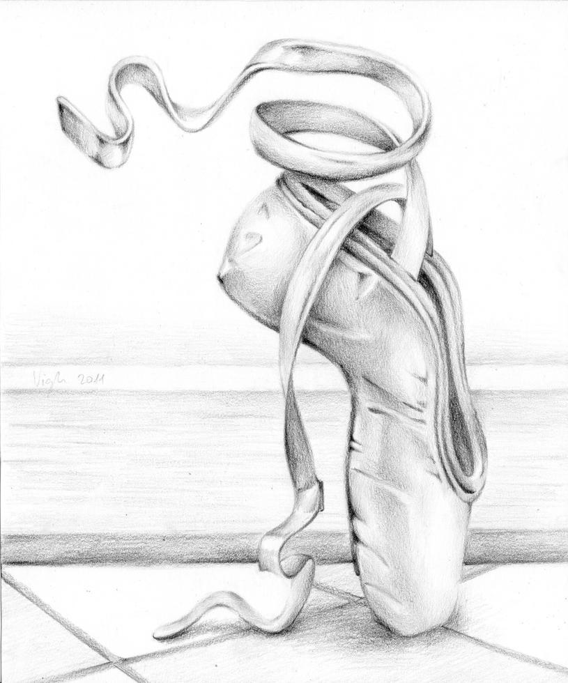 ballet shoe by vigh-attila on DeviantArt
