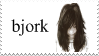 bjork - stamp by kaistamps