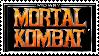 mortal kombat - stamp