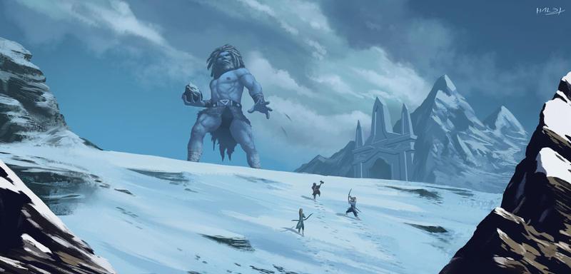 Cold Journey by Hallex