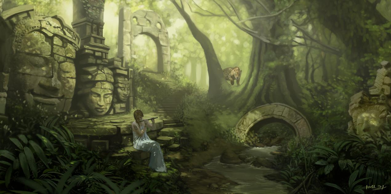 Forest by Halex by Hallex