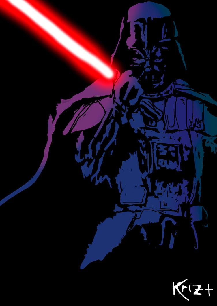 Darth Vader by KRIZ507
