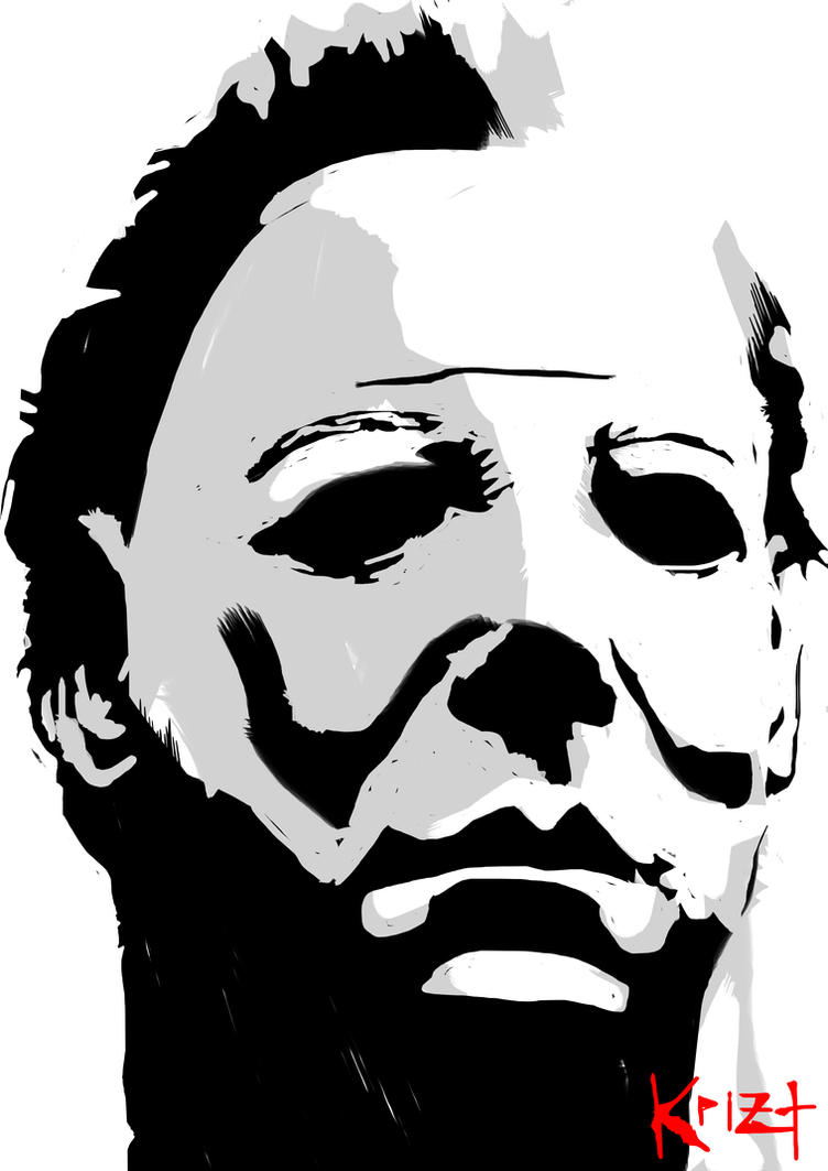michael myers coloring pages - photo#28