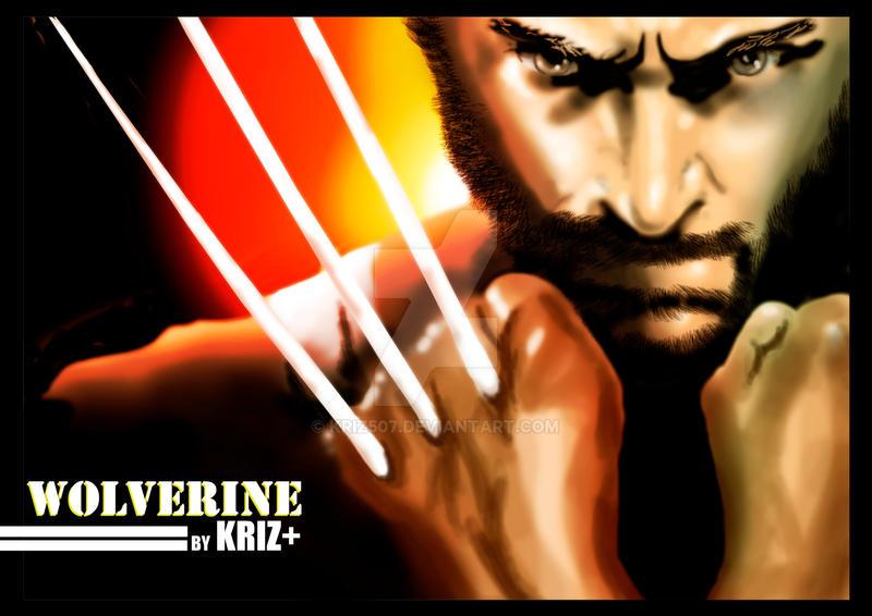 wolverine by KRIZ507