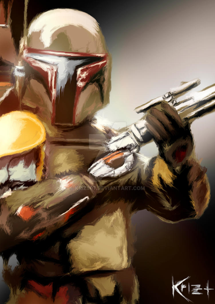 Boba Fett by KRIZ507