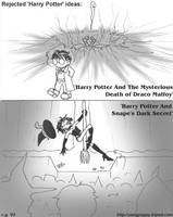 Rejected Harry Potter ideas by yang