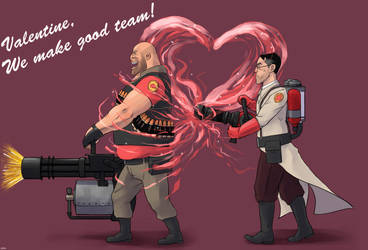 Valentine's day card by yang