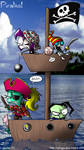 Invader Zim- Pirates