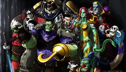 Shichibukai X World of Warcraft