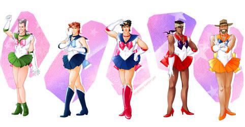 Jojo's Bizarre Adventure X Sailor Moon