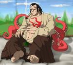 samurai Octopus taking a break