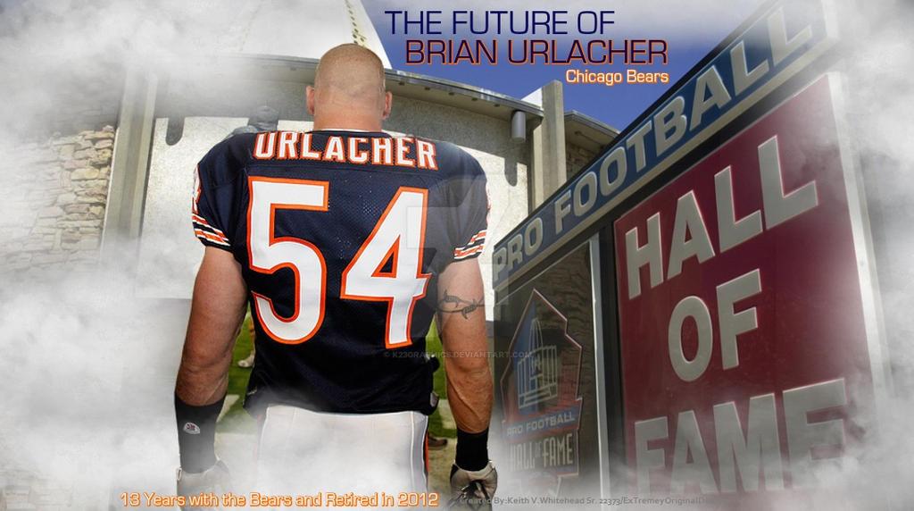 3e71e6afb24 Brian Urlacher Future Hall of Famer Deviant54 by K23Graphics on ...