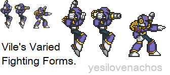 Vile's Varied Fighting Forms by yesilovenachos