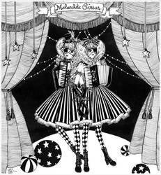 Melancholic circus by Heiwa-chan
